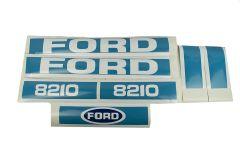 Motorkap sticker Ford 8210